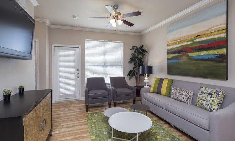 Luxury living room at Veranda home