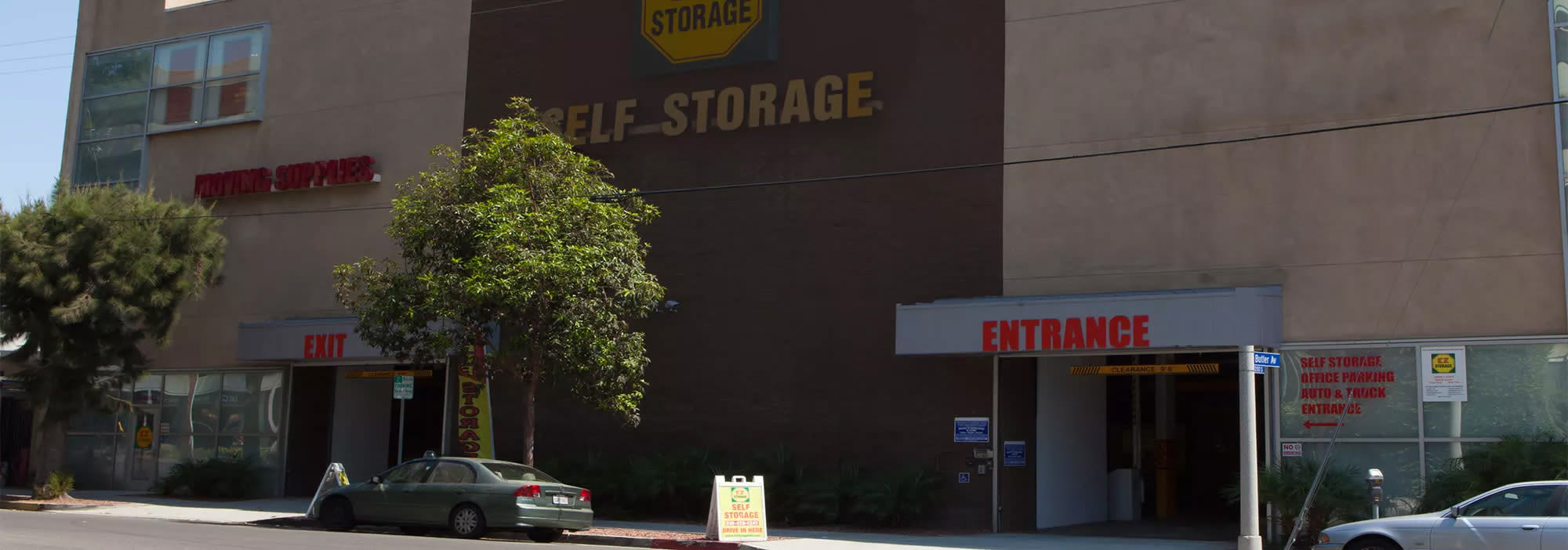 Self storage in Los Angeles CA