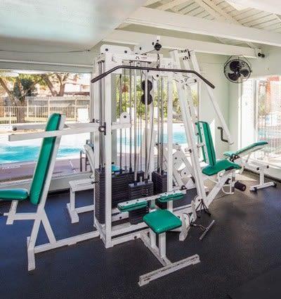 University Green fitness center in Houston, TX