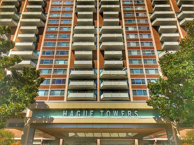 Exterior at Hague Towers in Norfolk, Virginia