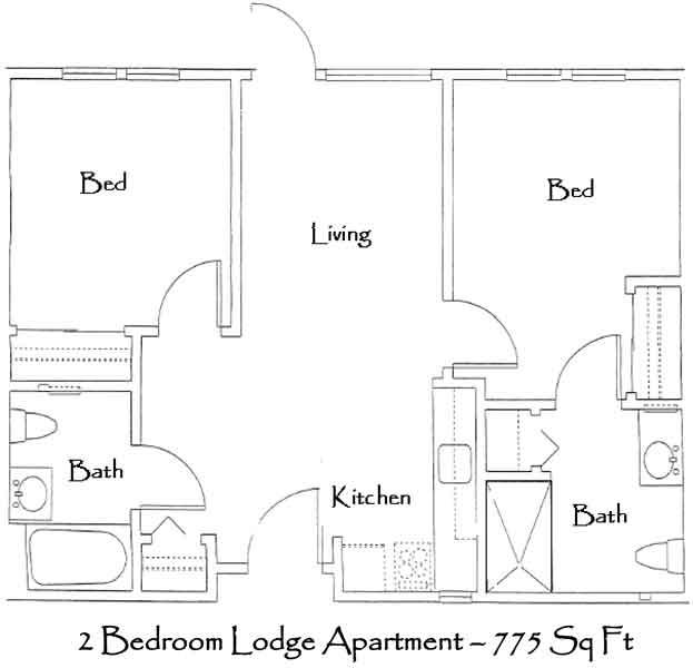 Senior Living Floor Plans GenCare Renton At The Lodge