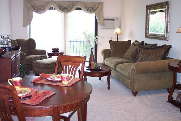 Village Green Apartments offers spacious floor plans in Baldwinsville, NY