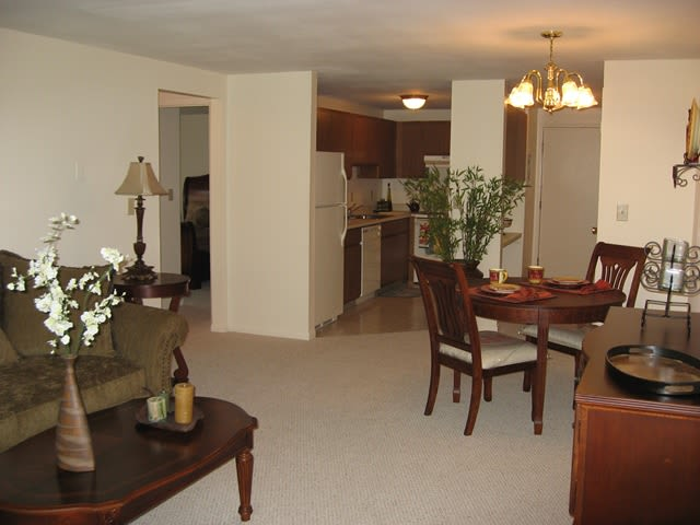 Spacious floor plans at Village Green Apartments in Baldwinsville, NY