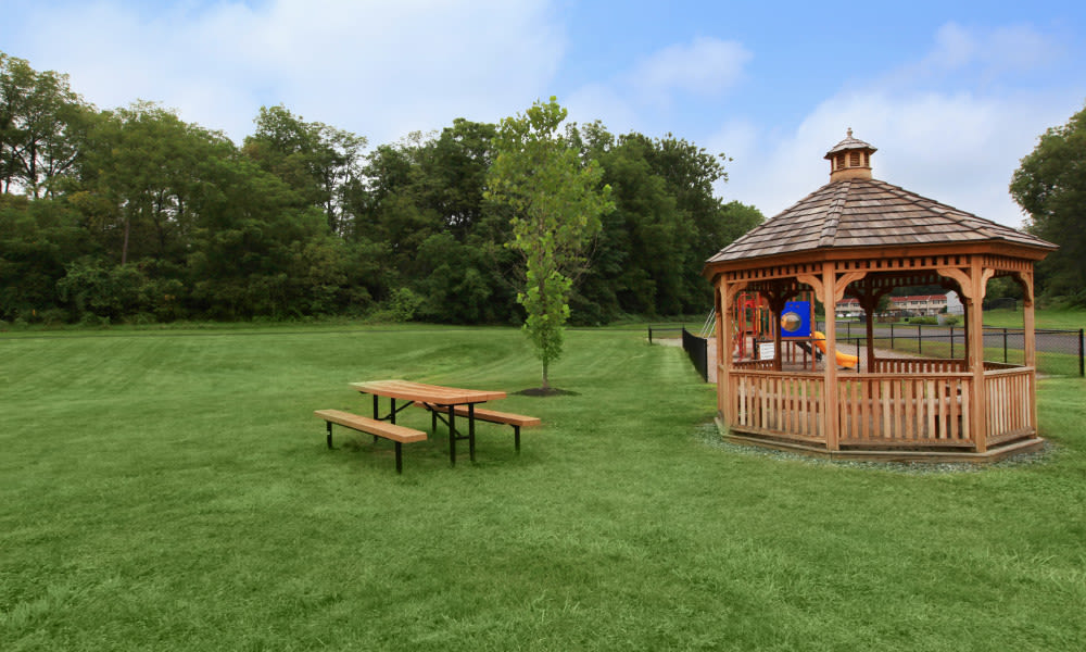Gazebo at Village Park Apartments in Pleasant Valley, NY