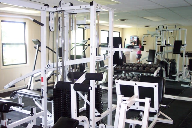 Stay healthy in our fitness center at Westminster Place Apartments in Liverpool, NY