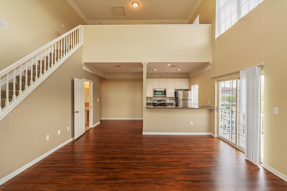 Nice hardwood floors in our Munhall, PA apartments