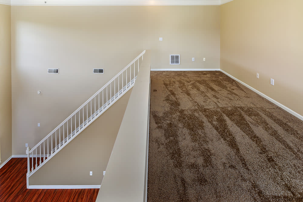 Upstairs Living Room at apartments in Munhall