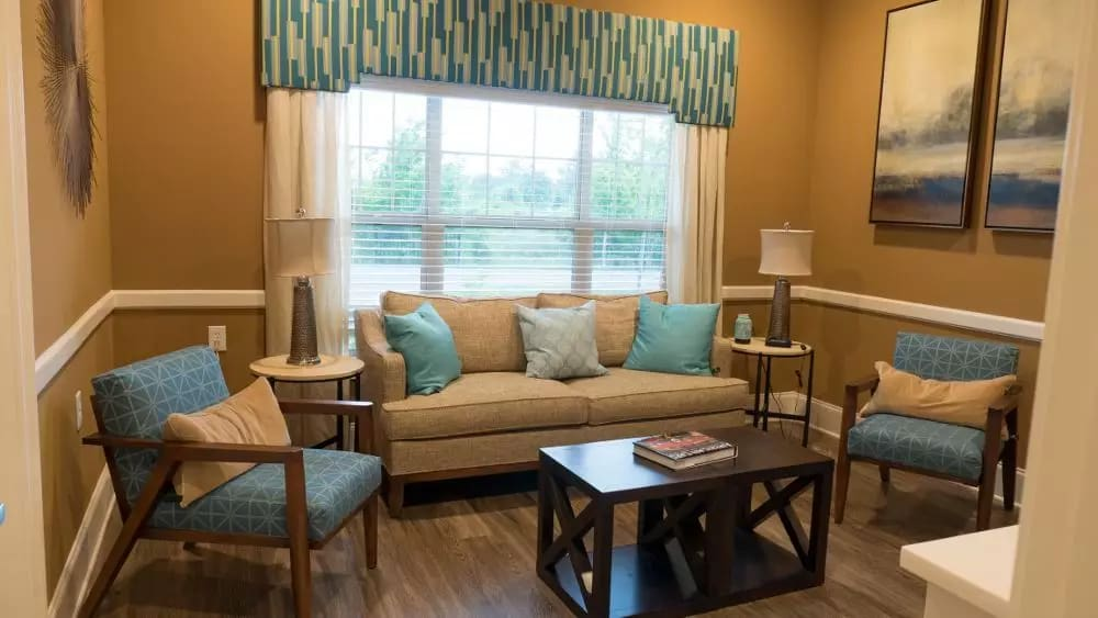 Interior image of the Memory Care Villas at Creekside At Three Rivers Assisted Living