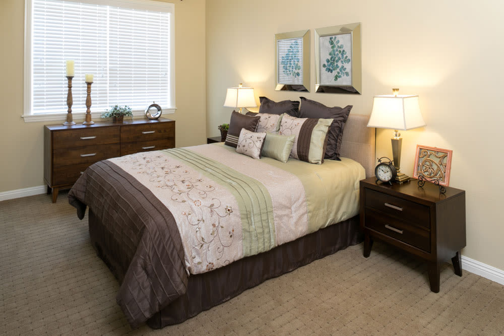Bedroom at Mariposa at Ellwood Shores