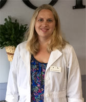 Dr Laura Russell at Quail Corners Animal Hospital