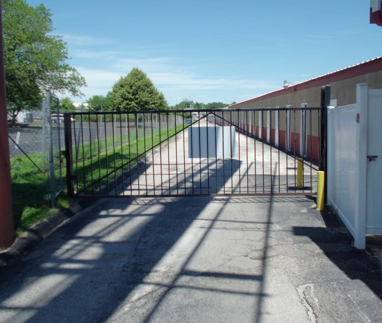 Gated entry at A Storage Inn - Cave Springs in Saint Peters