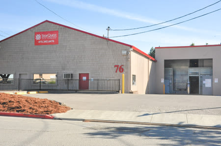 Exterior Building at StorQuest Self Storage in San Rafael, CA