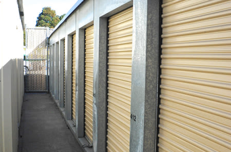 Outdoor Units at StorQuest Self Storage in San Rafael, CA