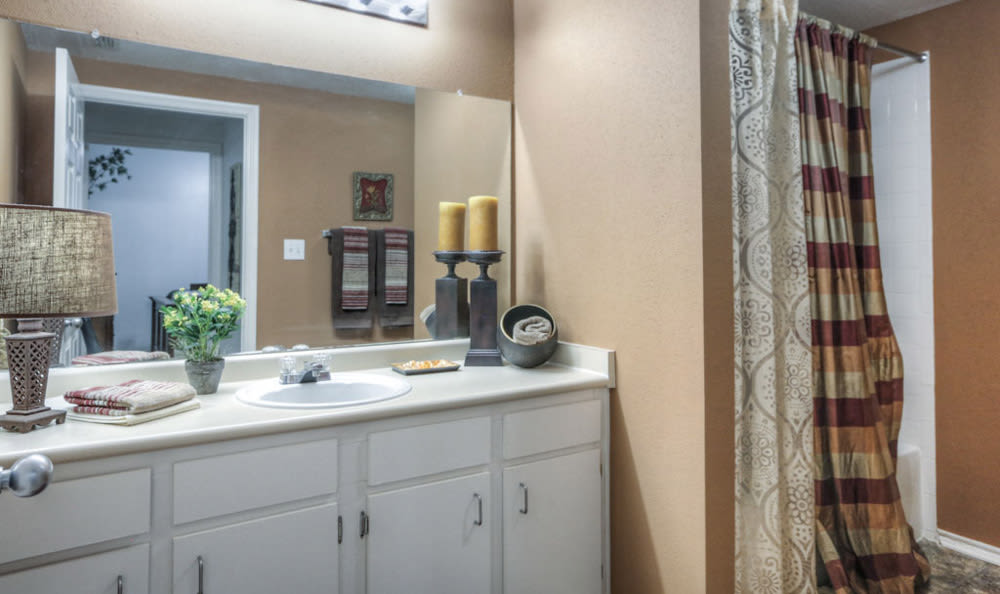 Bathroom at Stone Creek Apartments