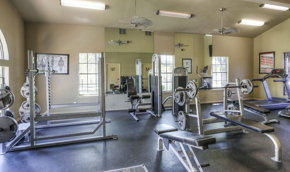 Fitness center at Copper Mountain
