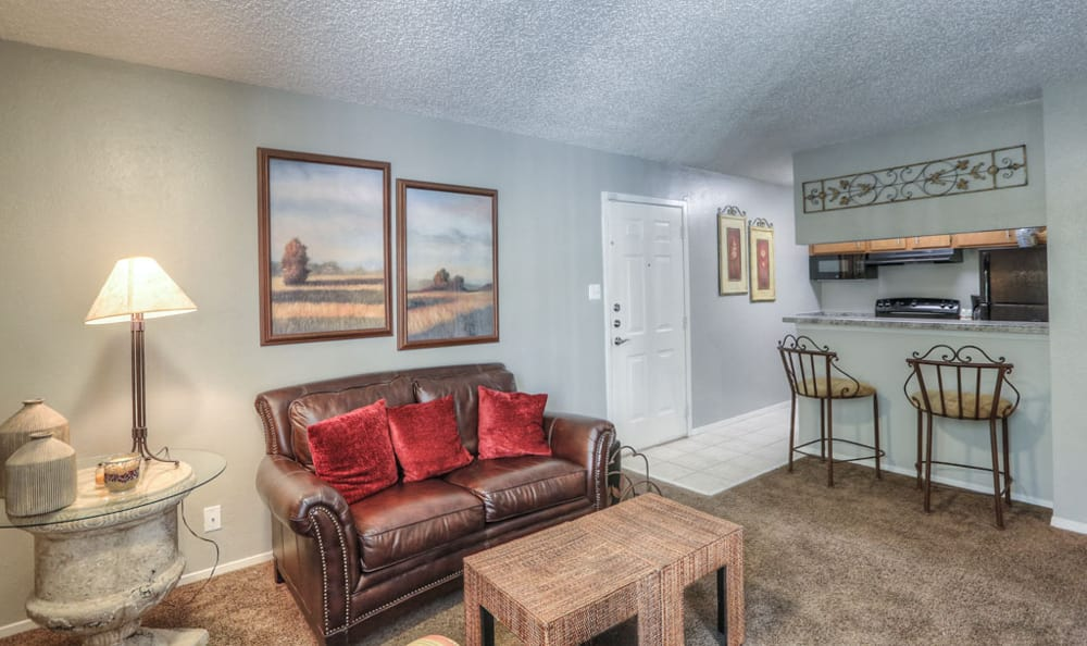 Living room entry at Copper Mountain