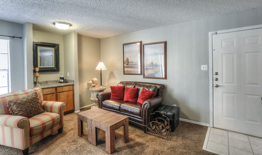 Living room at Copper Mountain