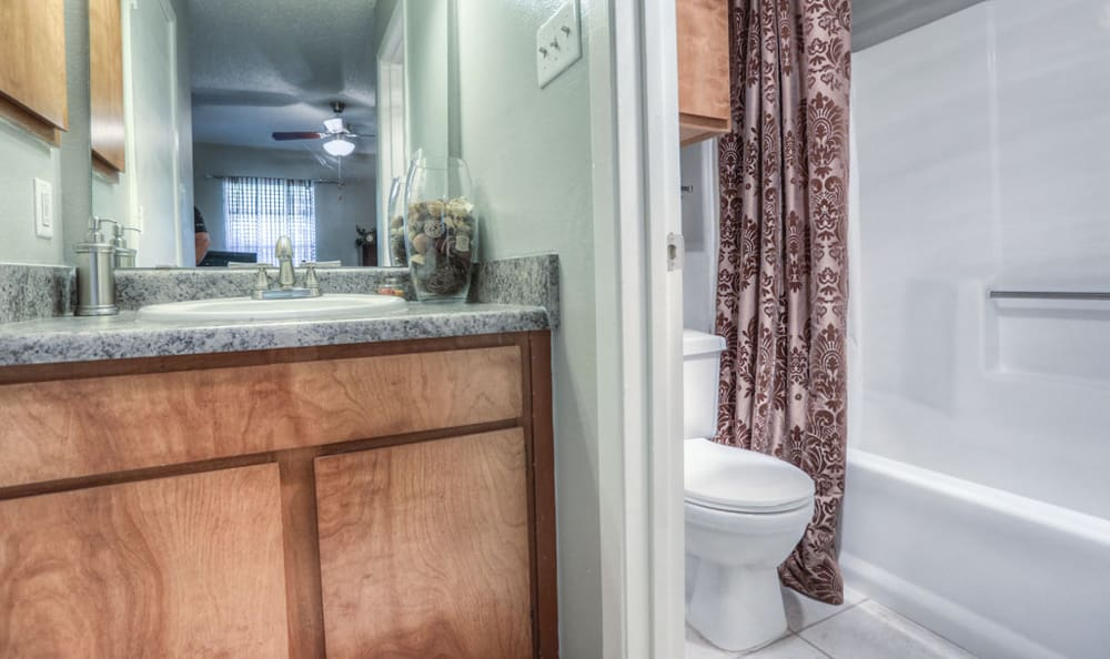 Bathroom at Copper Mountain