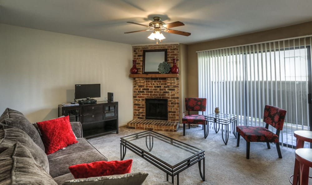 living room at Twin Creek