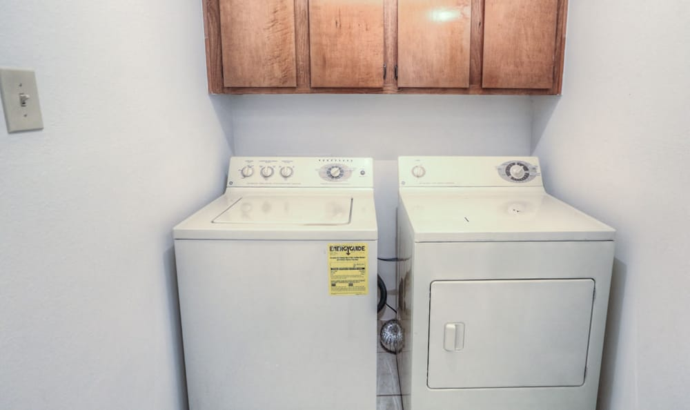Washer and Dryer at Twin Creek