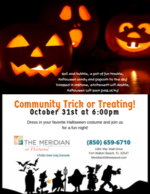 Community Trick or Treating!