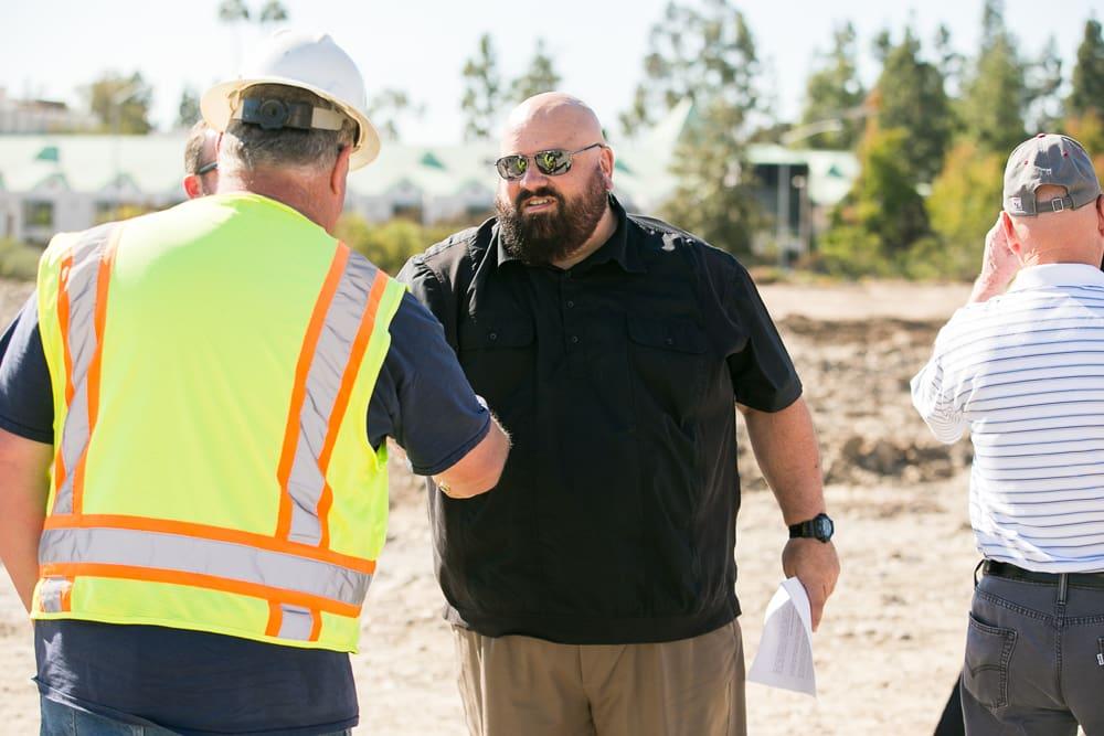 Ground Breaking event at Briercrest of La Mesa