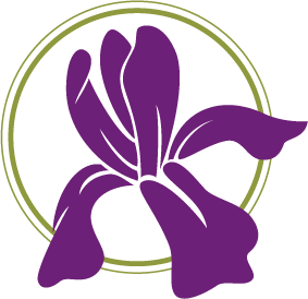 purple iris logo