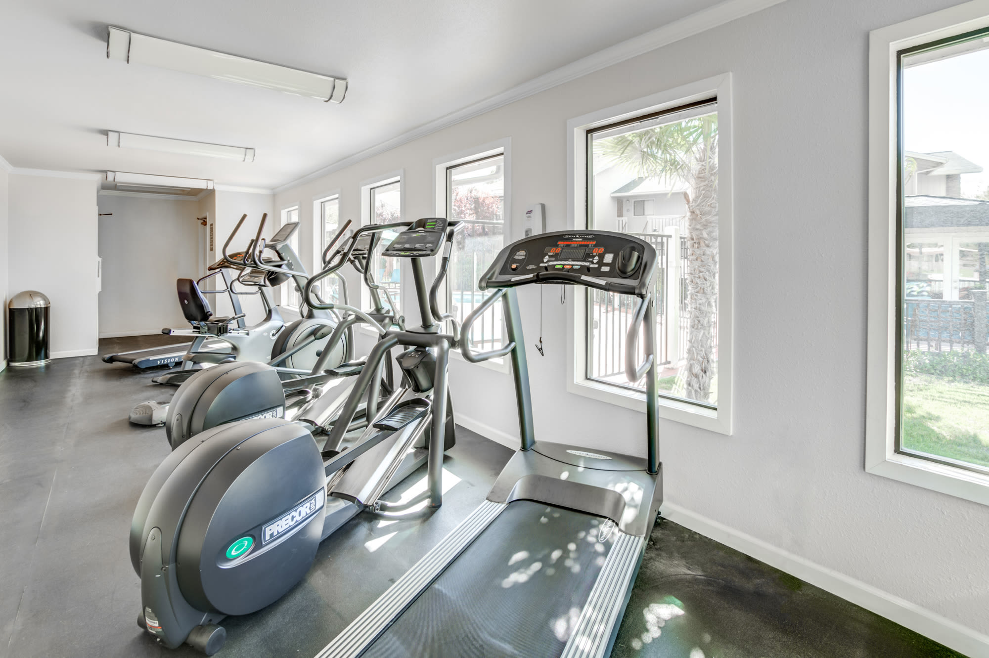 Fitness Center at Sommerset Apartments in Vacaville, CA