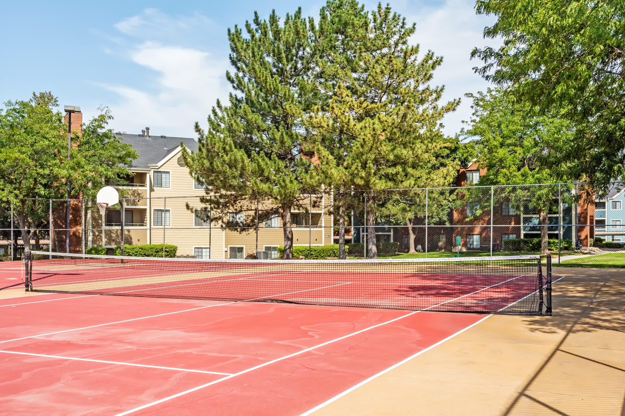 Tennis Court at Royal Ridge Apartments in Midvale