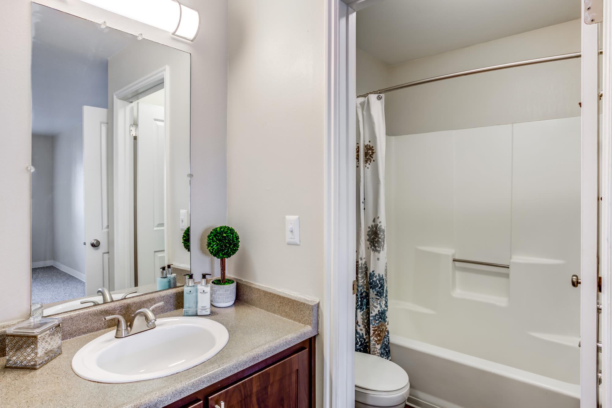 Bathroom at Royal Ridge Apartments