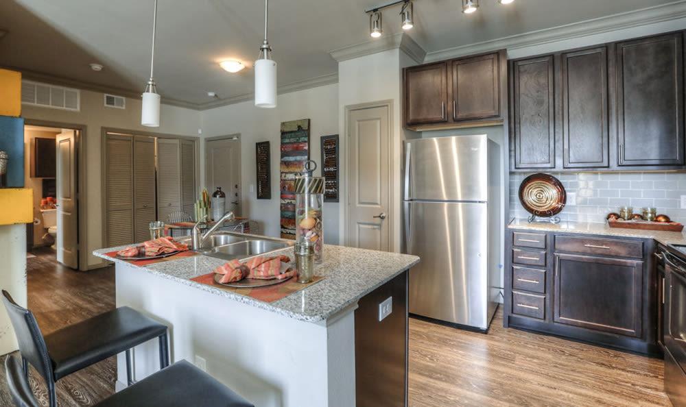 Kitchen at Villas at Spring Trails