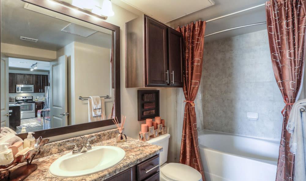 Bathroom at Villas at Spring Trails