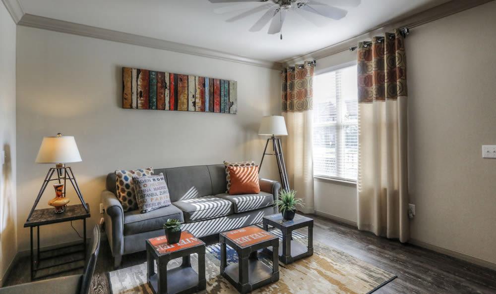 Living room at Villas at Spring Trails