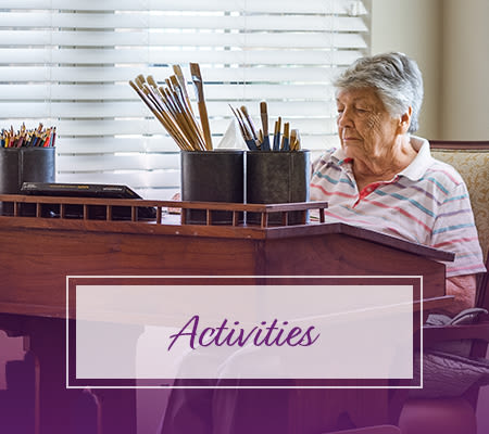 Learn more about activities at Iris Memory Care of Turtle Creek in Dallas, Texas