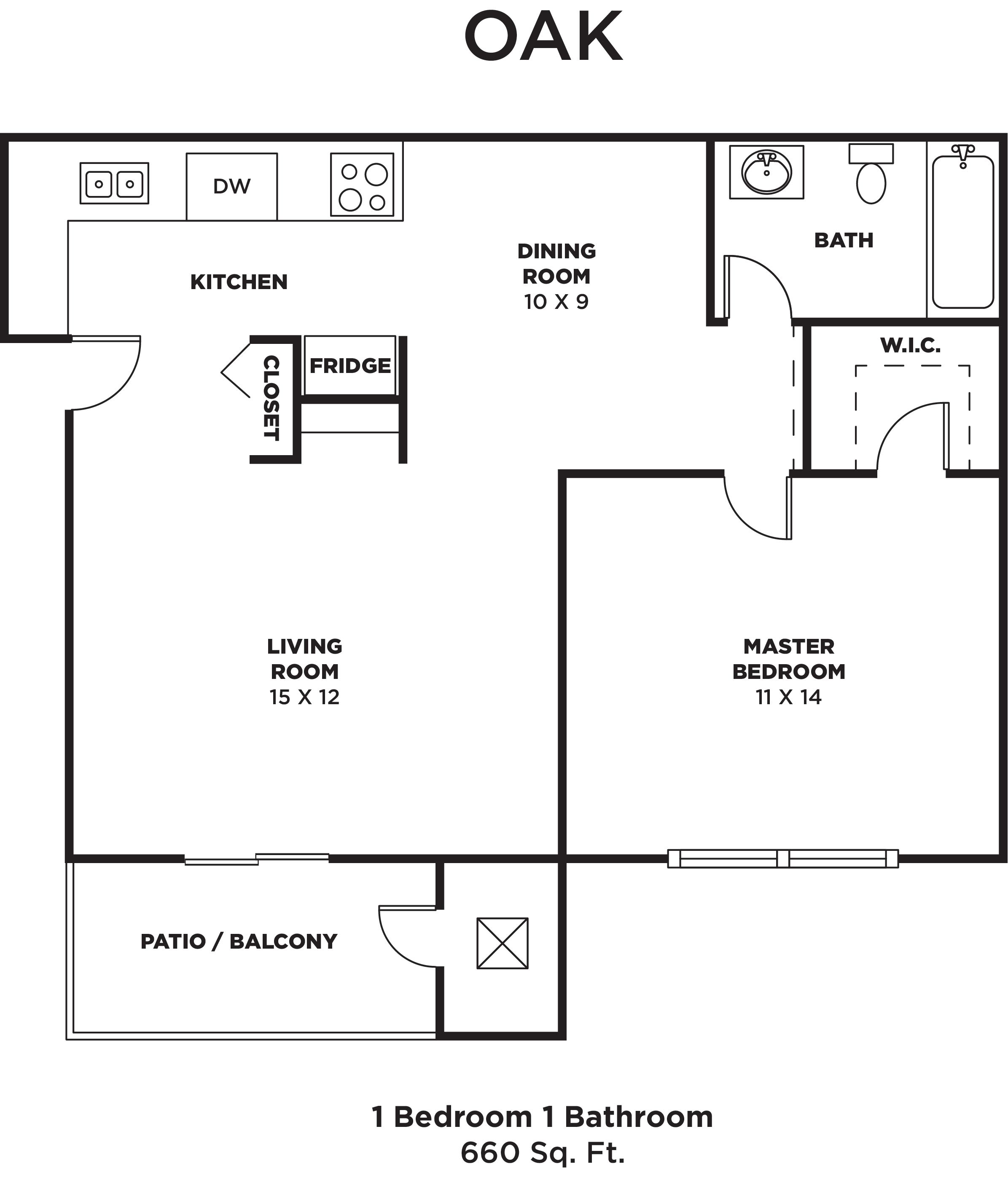 awesome 1 bedroom floor plans images home