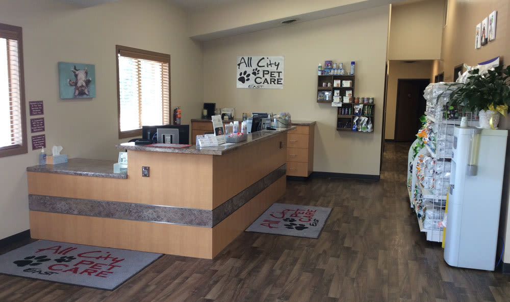 Main office at Sioux Falls Animal Hospital