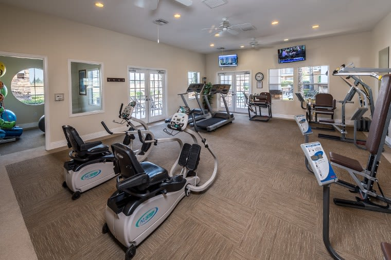 Fitness Center At Apartments In Rancho Cucamonga, California