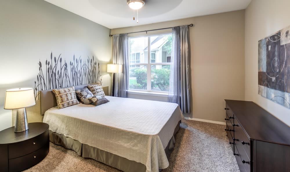 Spacious Bedroom at HighGrove Apartments in Everett, WA