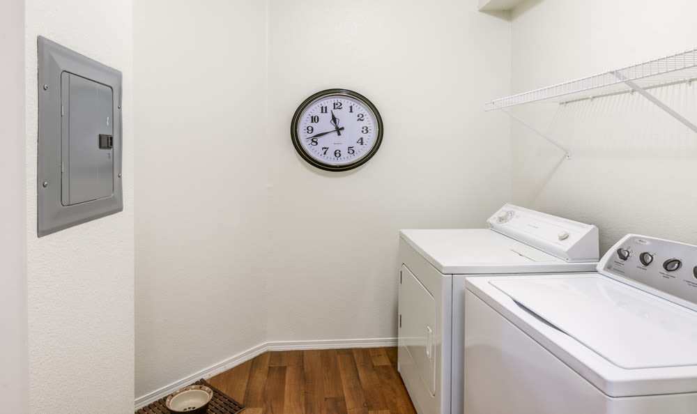 Washer & Dryer at