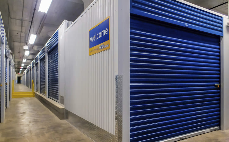 Storage units at Compass Self Storage in Sewickley