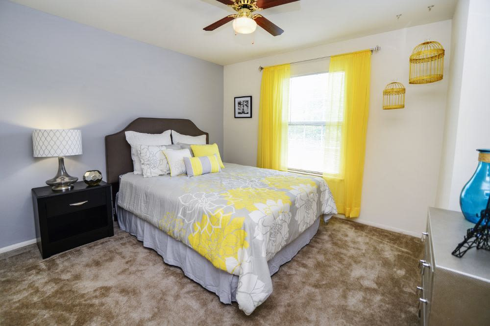 Spacious bedroom at Fox Run Apartments & Townhomes in Bear, DE