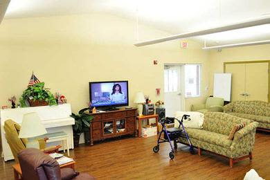 TV room at Pacifica Senior Living Belleair