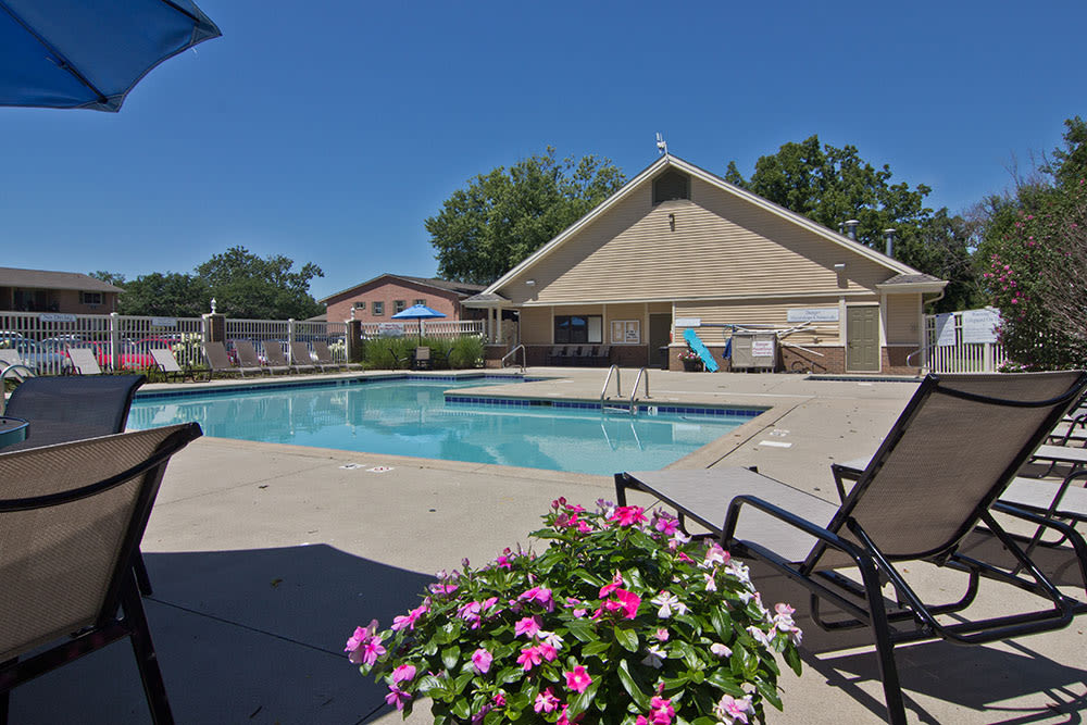 Pool at our Fort Wayne, IN apartments