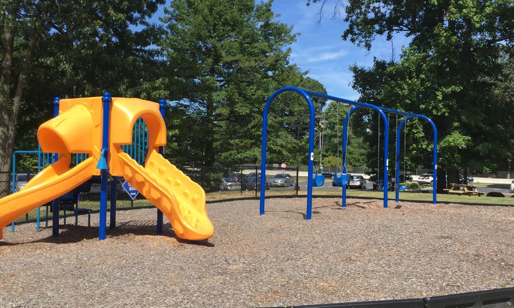 Spacious playground at Lexington House Apartment Homes in Cherry Hill, NJ