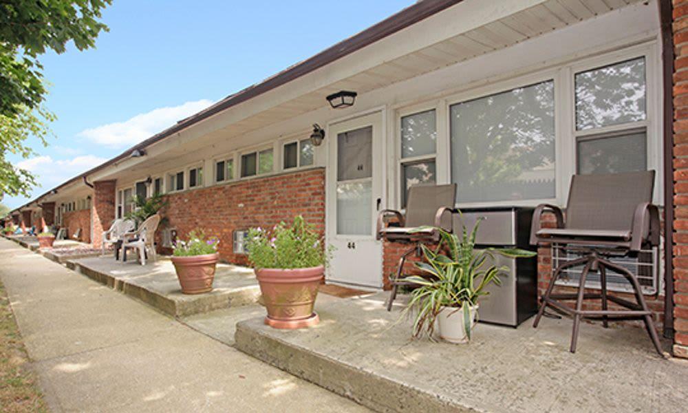 Beautiful exterior at Ocean Terrace Apartment Homes in Long Branch, NJ
