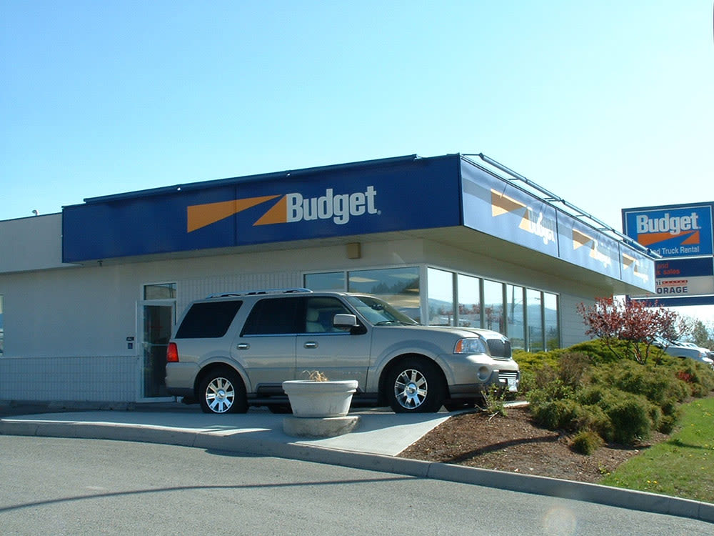 Exterior photo of Budget Self Storage office