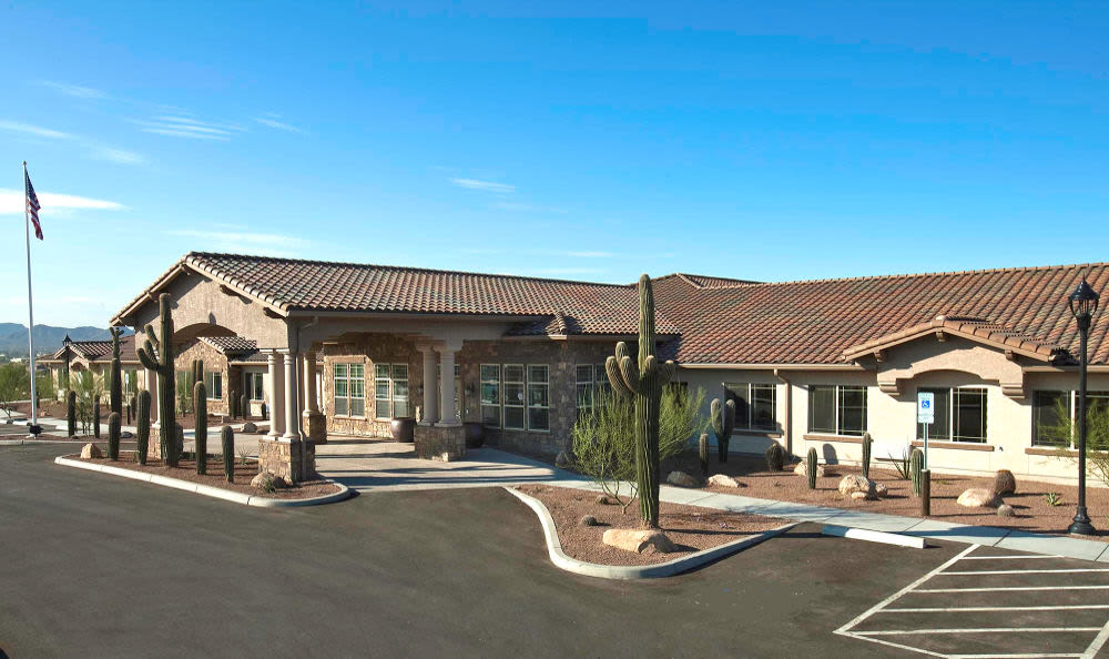 Copper Canyon Alzheimer's Special Care Center exterior