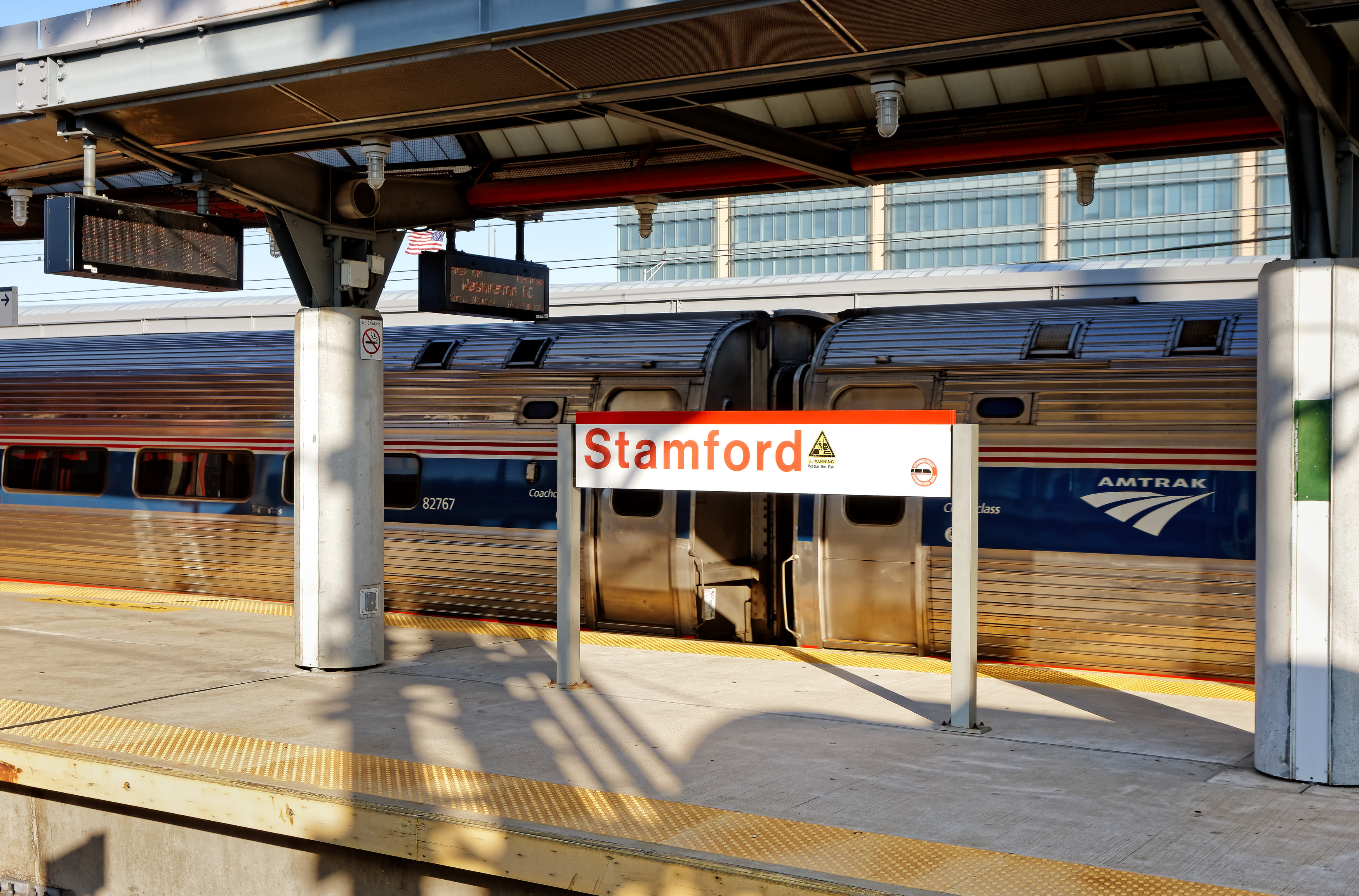 Stamford Amtrak station