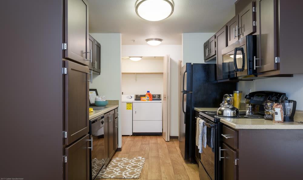 Kitchen at Renaissance at 29th Apartments