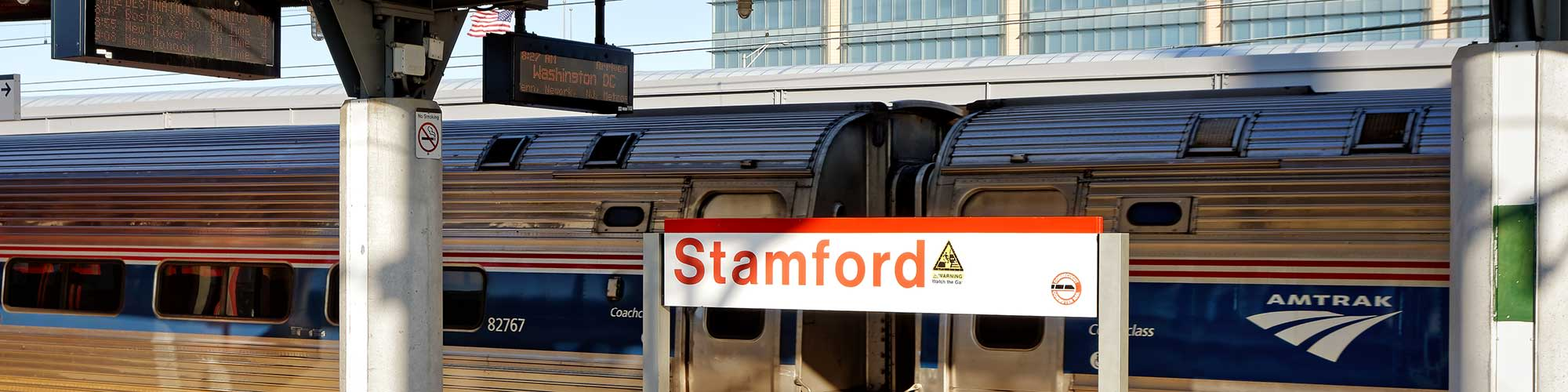 Transit system in Stamford, Connecticut